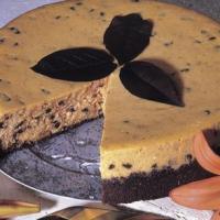 Pumpkin ChocolateChipCheesecake