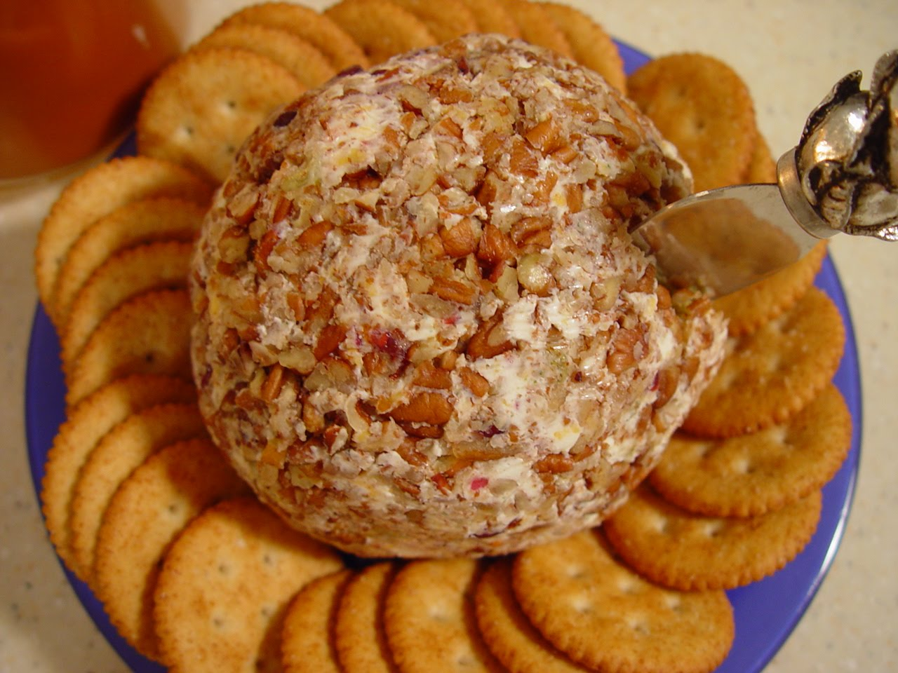Homemade Cheese Ball (from mom)