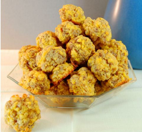 how to make sausage balls with bisquick