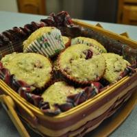 Cranberry-Zucchini Muffins